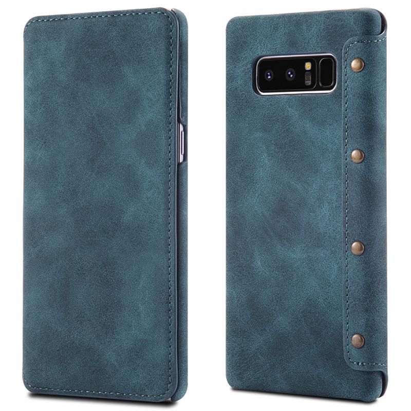 Bao da Special Galaxy Note 8 màu xanh navy