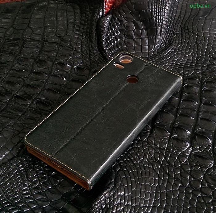 Bao da ionecase HTC 10 Pro da bò màu đen
