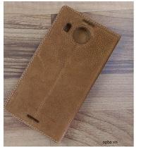Bao Da IONE Nokia Lumia 950 XL Made In Vietnam 100% Leather
