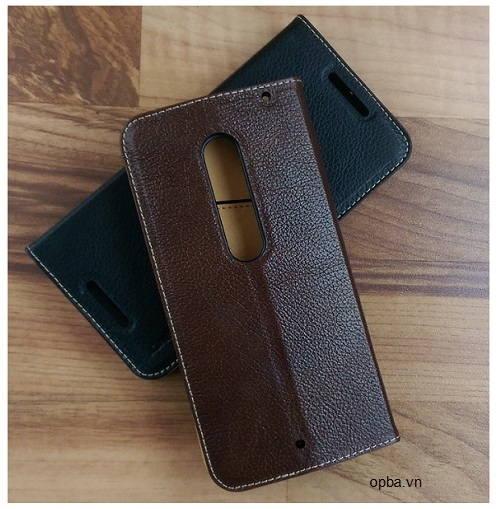 Bao da iONE Motorola X Play made in viet nam 100% leather