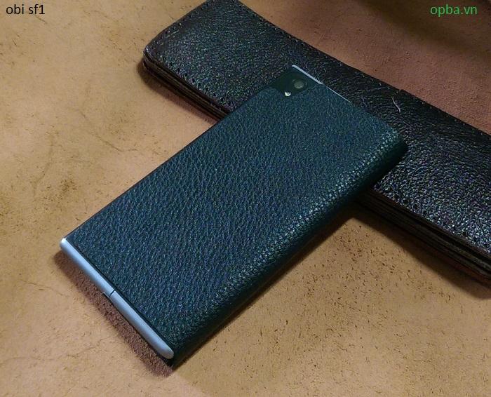 Bao da iONE OBI SF1 made in việt nam màu đen hạt