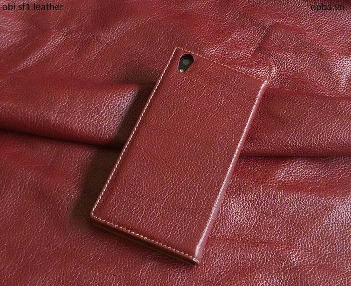 Bao da iONE OBI SF1 made in việt nam màu đỏ