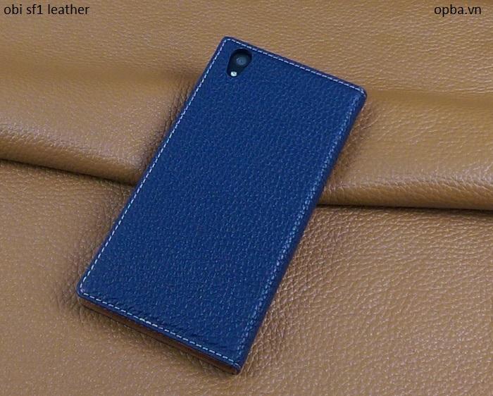 Bao da iONE OBI SF1 made in việt nam màu xanh