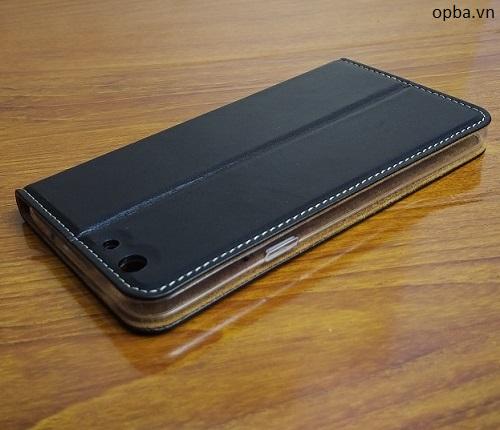 Bao da IONE Oppo F1S 100% da thật made in vietnam màu đen