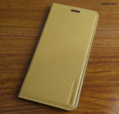 Bao da IONE Oppo F1S 100% da thật made in vietnam màu gold
