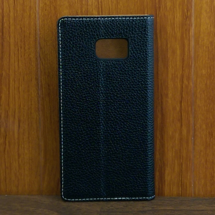 Bao da Ione Leather Galaxy Note Fan Edition màu đen