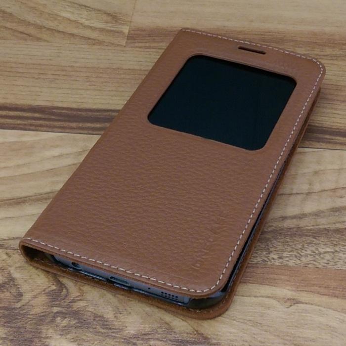 Bao da Samsung Galaxy S6 Edge màu nâu