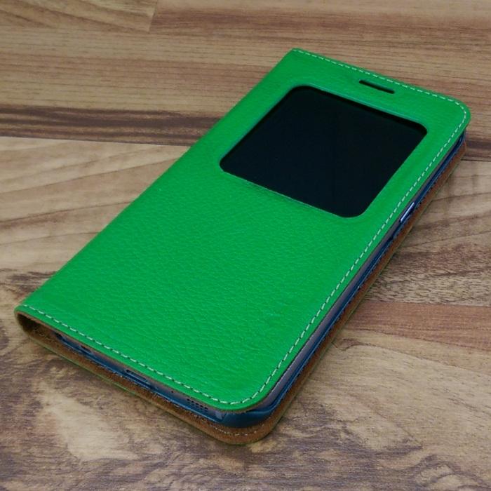 Bao da Samsung Galaxy S6 Edge màu xanh lá