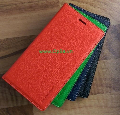 Bao Da IONE NOKIA Lumia 920 Made in Vietnam 100% Leather