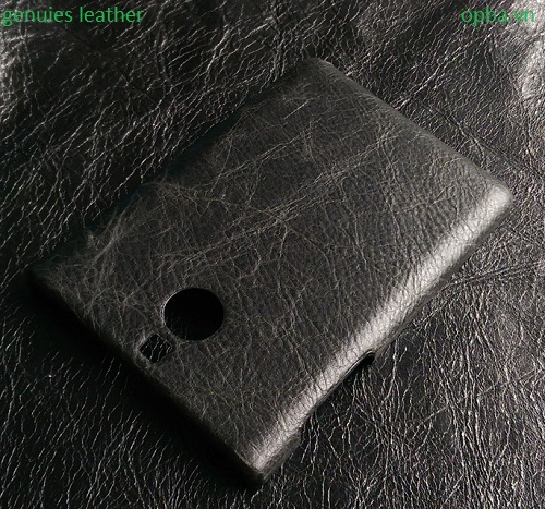Ốp Lưng IONE Blackberry passport silver Leather màu đen
