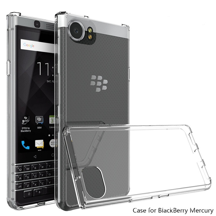 Ốp lưng Safe Blackberry Keyone chống sốc trong suốt