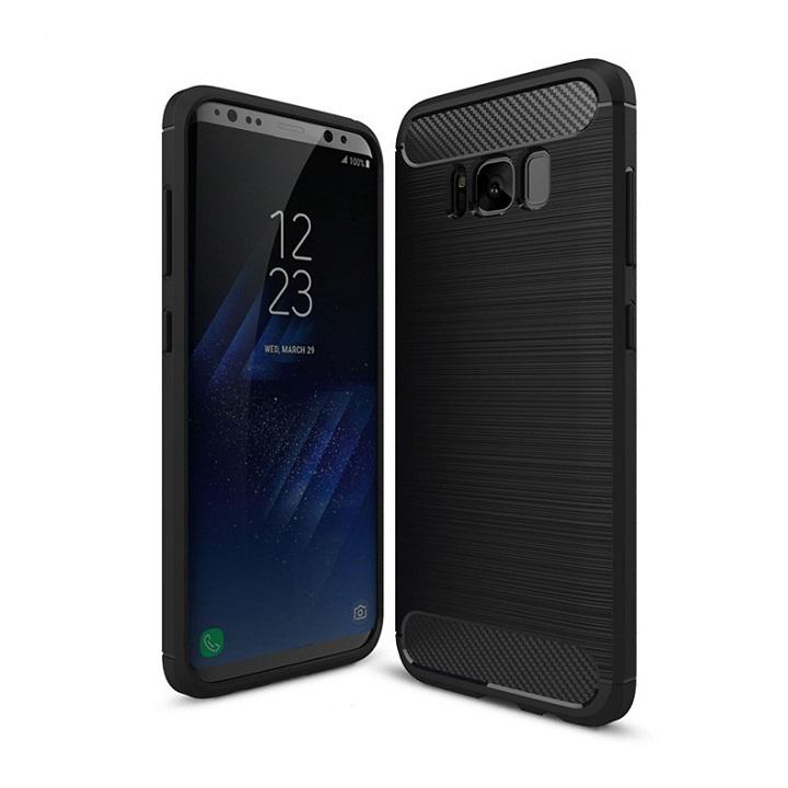 Ốp lưng Galaxy S8 Plus chống sốc dẻo màu đen