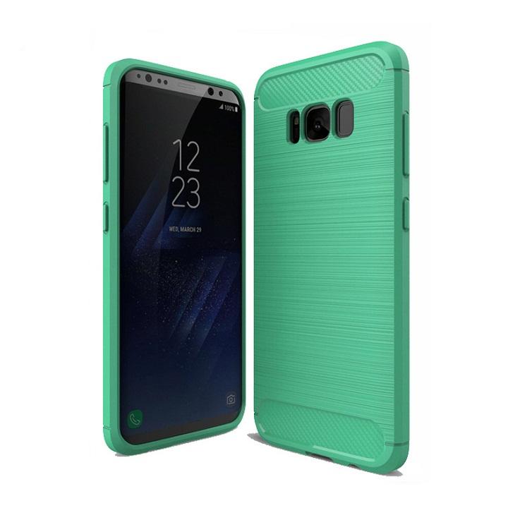 Ốp lưng Galaxy S8 Plus chống sốc dẻo màu xanh lá