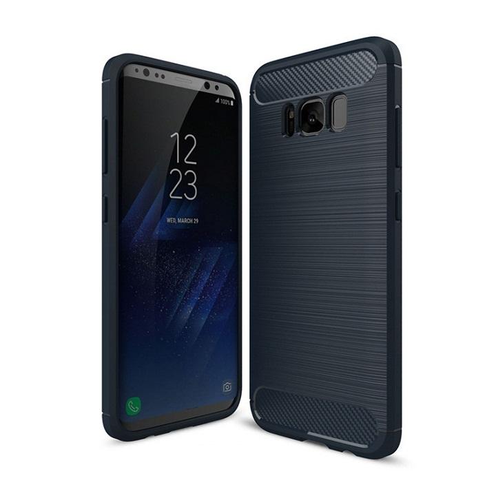 Ốp lưng Galaxy S8 Plus chống sốc dẻo màu xanh navy