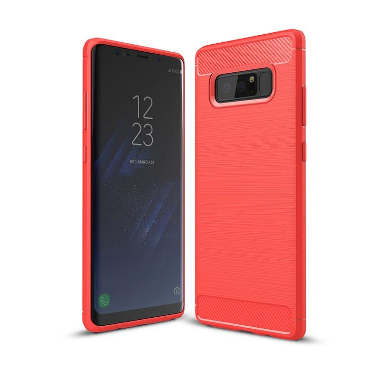 Ốp lưng Galaxy Note 8 chống sốc dẻo màu đỏ