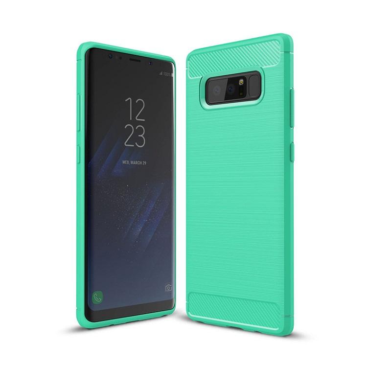 Ốp lưng Galaxy Note 8 chống sốc dẻo màu xanh lá