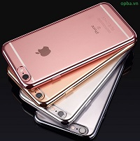 Ốp Lưng IPHONE 7 Electroplate trong suốt dẻo