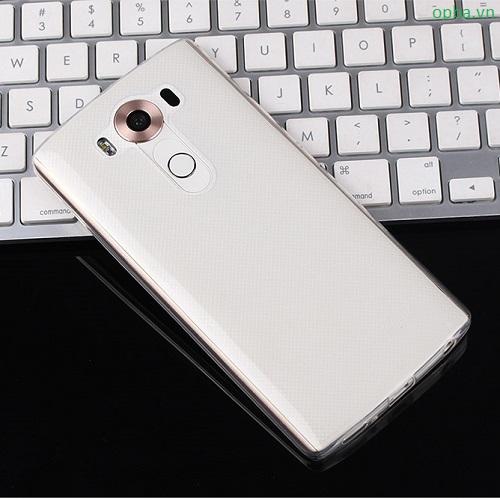 Ốp lưng LG V10 trong suốt dẻo
