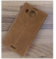 Bao Da IONE Nokia Lumia 950 XL Made In Vietnam 100% Leather