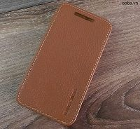 Bao Da IONE Motorola E2  Made In Viet Nam 100% Leather