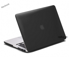 Ốp lưng Macbook 12 inch dark color màu đen