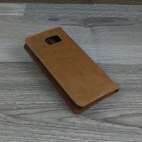 Bao da Ione Leather Galaxy Note Fan Edition màu nâu