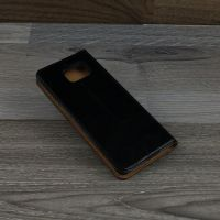 Bao da Samsung Galaxy S6 Edge icool leather màu đen
